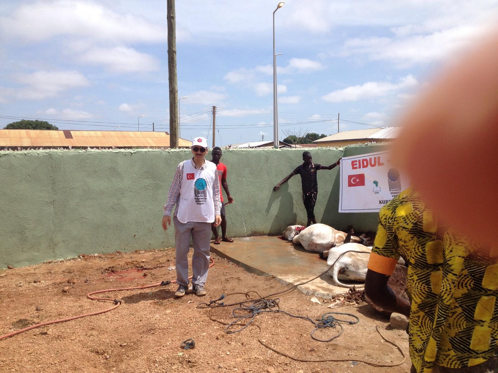 GANADER ve HUDAI olarak Gana'da kurban faaliyetlerimizi gerçekleştirdik - DUYURULAR - Gana Dostuk ve Yardımlaşma Derneği