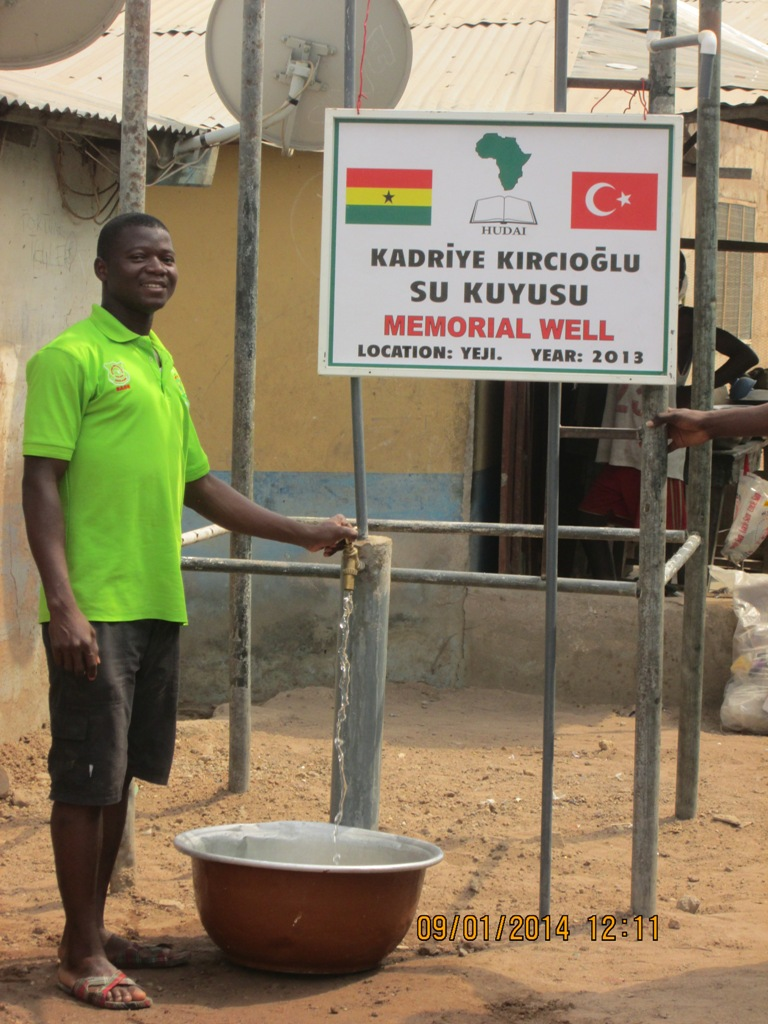 Su Kuyusu - FAALİYETLER - Gana Dostuk ve Yardımlaşma Derneği