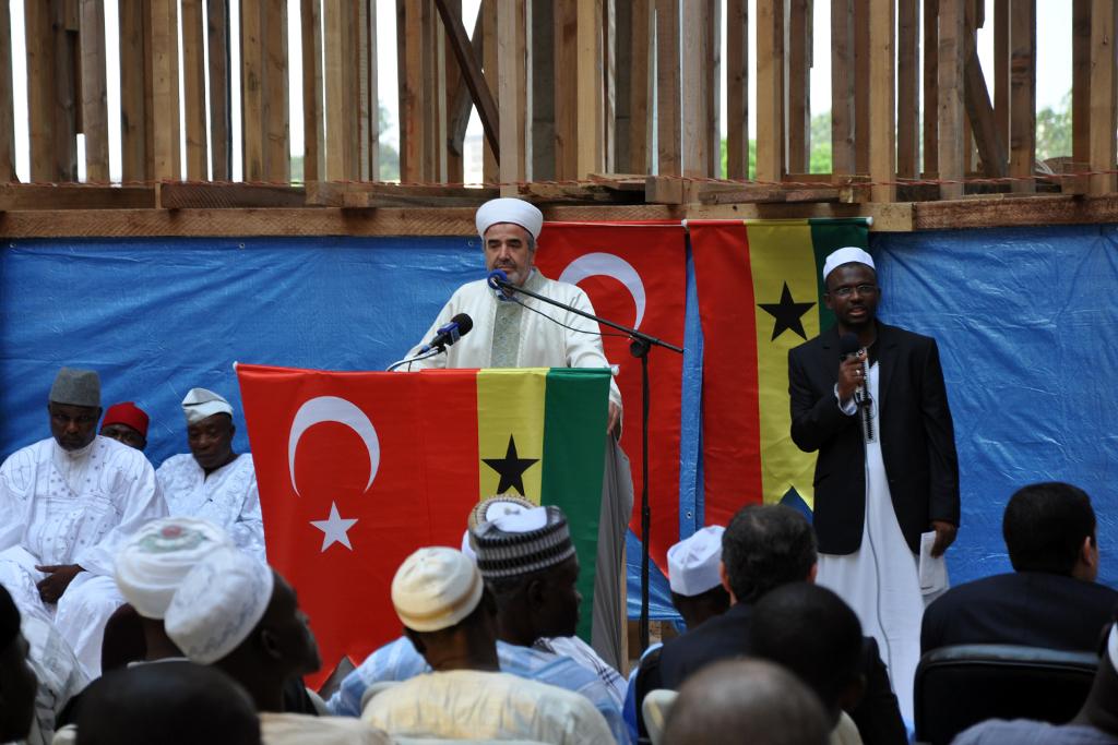 Diyanet İşleri Başkanlığından Accra Furkan Camiine destek - BASINDA BİZ - Gana Dostuk ve Yardımlaşma Derneği