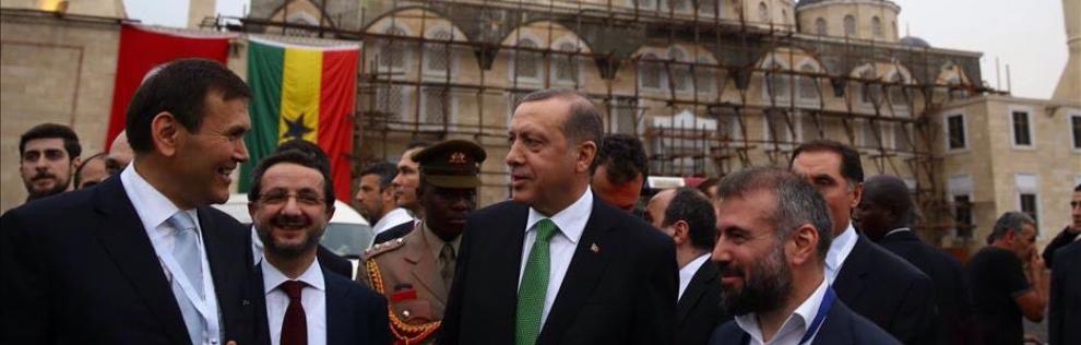 Sayın Türkiye Cumhuriyeti Cumhurbaşkanı Recep Tayyip ERDOĞAN Gana Accra Furkan Camii ve Külliyesini(Gana Milli Camii) ziyaret edip bilgi aldı