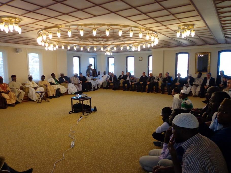 Ganader, Gana Diyanet İşleri Başkanını misafir etti - DUYURULAR - Gana Dostuk ve Yardımlaşma Derneği