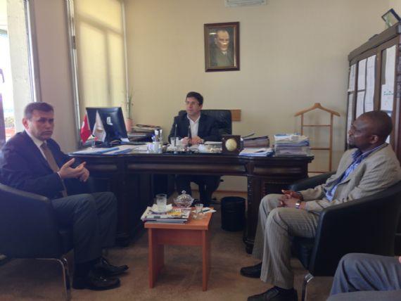 İstanbul Ticaret Üniversitesi Rektör yardımcısı Prof.Dr.Yücel Uğurluyu ziyaret ettik. - DUYURULAR - Gana Dostuk ve Yardımlaşma Derneği