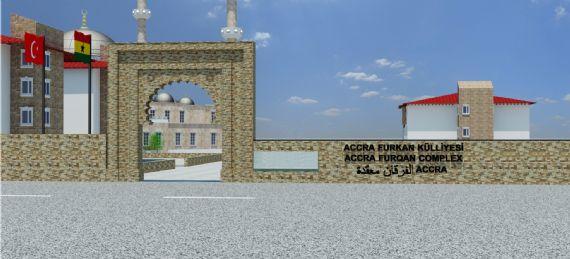 Akra Furkan Camii İnşaatı Başladı - DUYURULAR - Gana Dostuk ve Yardımlaşma Derneği