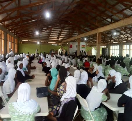 Bütün ihtişamı ile Ganada Ramazan-ı Şerifi yaşadık - DUYURULAR - Gana Dostuk ve Yardımlaşma Derneği