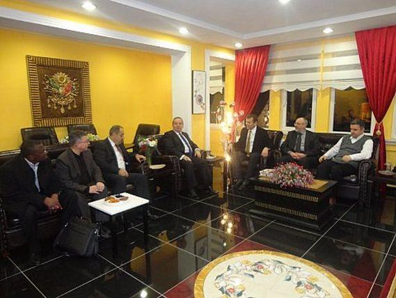 Gana Dostluk ve Yardımlaşma Derneği olarak Samsun Büyükşehir Belediyesi'ni ziyaret ettik - DUYURULAR - Gana Dostuk ve Yardımlaşma Derneği