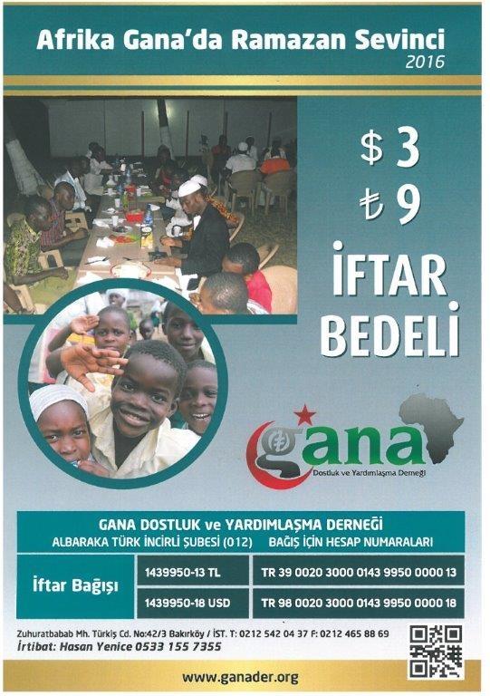 2016 Afrika Gana Ramazan Sevinci - DUYURULAR - Gana Dostuk ve Yardımlaşma Derneği
